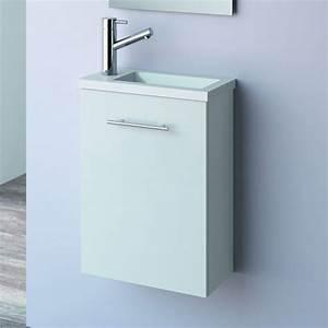 Lave Main 15 Cm Profondeur : lave main faible profondeur 22x40 cm aliso ~ Melissatoandfro.com Idées de Décoration