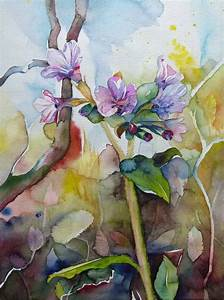 Aquarell Blumen Malen : blumen aquarelle malen ~ Frokenaadalensverden.com Haus und Dekorationen