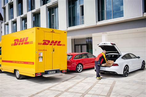 Audi Teams Up With Dhl & Amazon To Deliver Packages To