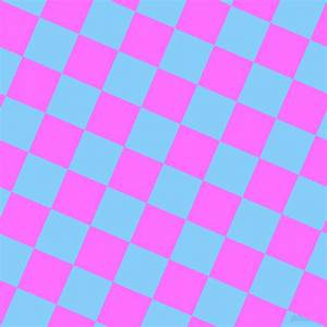 Light Sky Blue and Ultra Pink checkers chequered checkered ...