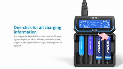 Xtar X4 Extended Charger Cc
