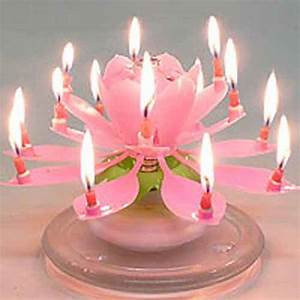 Amazing Musical Flower Birthday Candle - $5.95 | Lotus ...