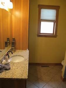 main floor bathroom before elizabeth erin designs With main floor bathroom ideas