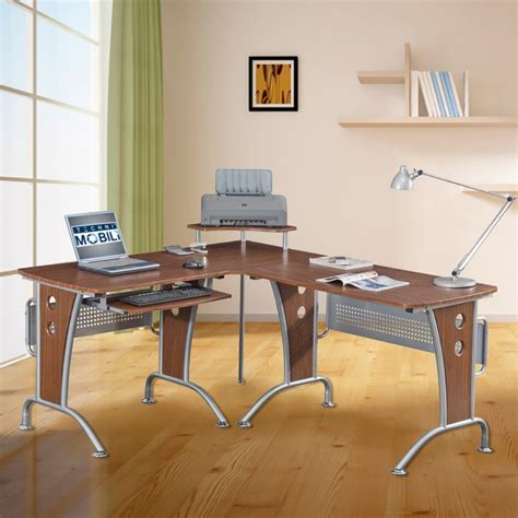 modern l shaped computer desk l shape desk desks boca 3piece lshaped desk and credenza