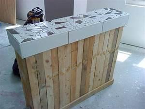 Idee deco en palette de bois 18 photo deco maison for Idee deco cuisine avec fabrication de table en bois