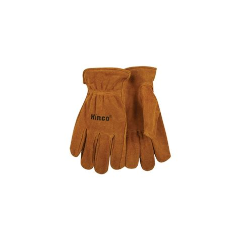 Split Cowhide Leather by Kinco Unlined Split Cowhide Leather Driver Glove Xlarge 50 Xl