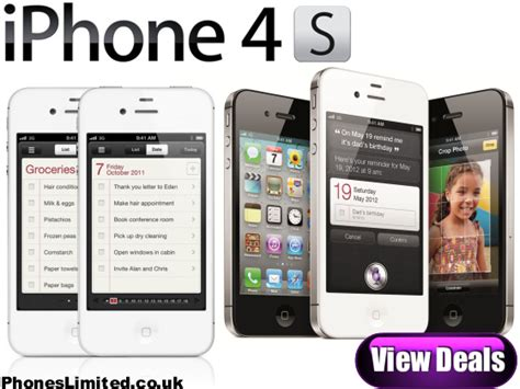 pay as you go iphone iphone 4s pay as you go deals 16gb 32gb 64gb iphone