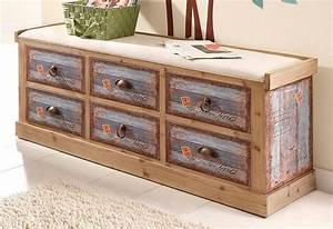 Sitzbank Flur Vintage : home affaire sitzbank vintage in zwei farben otto ~ Watch28wear.com Haus und Dekorationen