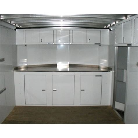 lightweight cabinets for trailers aluminum storage cabinets for trailers mf cabinets