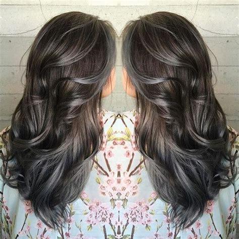 amazing greysilver highlights  haircut web