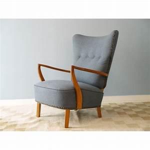 Fauteuil Vintage Scandinave : fauteuil scandinave design danois la maison retro ~ Dode.kayakingforconservation.com Idées de Décoration