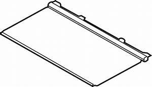 Lincoln Mkx Sunroof Cover  Rear  Stone  Black