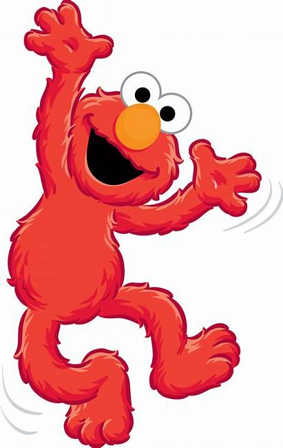 Elmo Sesame Street Birthday Characters Clipart Sesamo