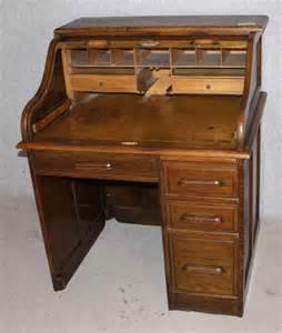 antique oak roll top desk oak stype single pedestal roll top desk antiques atlas