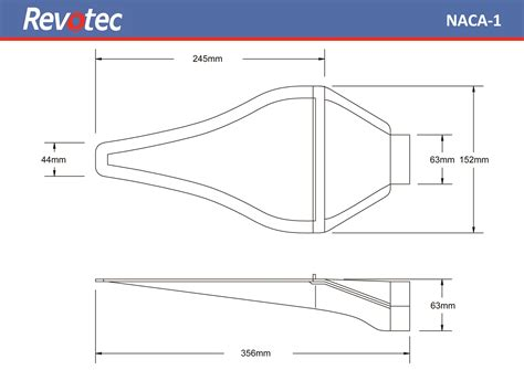 Naca Duct Template by Naca Ducts