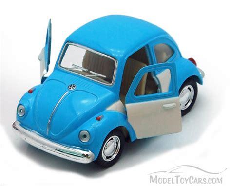 car toy blue 1967 volkswagen classic beetle blue kinsmart 4026dc 3