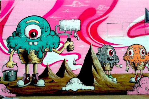 Graffiti Character Monster : Street Art And Graffiti Images Of Characters On Nyc Public