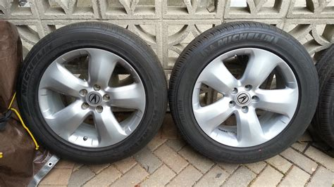 Acura Tires by Fs 2007 08 Acura Rdx Oem 18 Quot Rims With Michelen Pilot