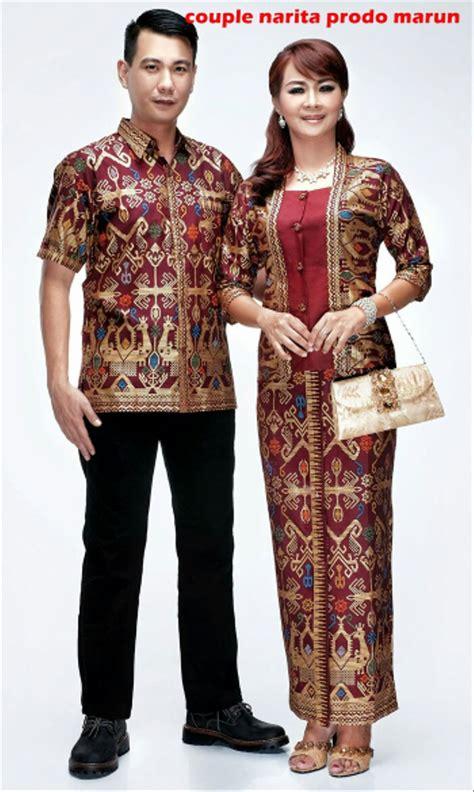 jual baju batik couple sarimbit gamis erika seragam pesta