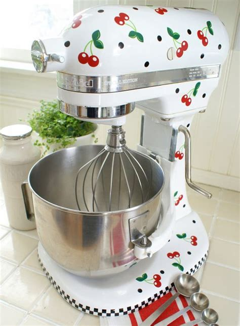cherries kitchen accessories cheery cherry kitchenaid decals vinyls two tones and 2139