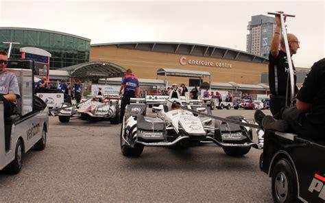 Car Photo Behind The Scenes At The Honda Indy Toronto