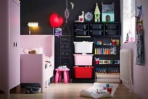 Rangement Chambre Enfant Ikea : id e rangement chambre enfant avec meubles ikea ~ Teatrodelosmanantiales.com Idées de Décoration