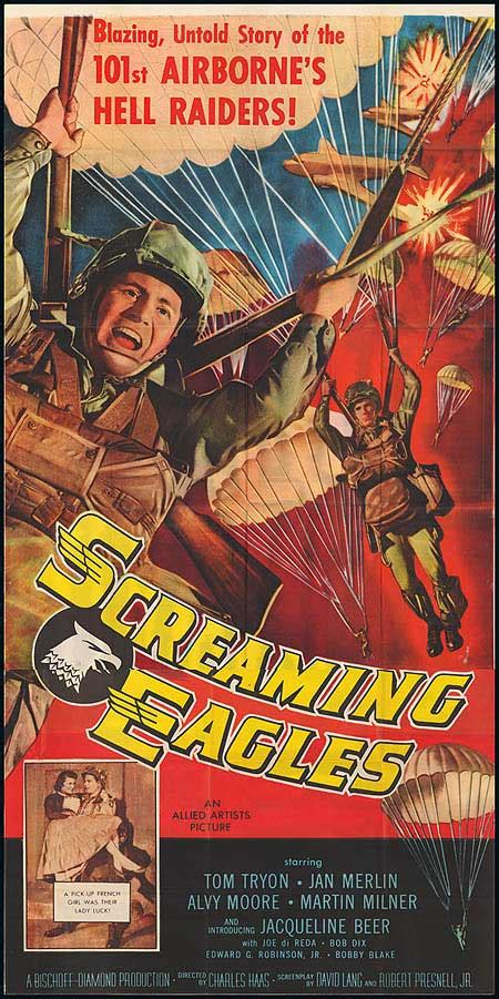 Screaming Eagles movie posters at movie poster warehouse