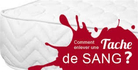 enlever taches de sang nettoyer une tache de sang sur un matelas guide d achat matelas