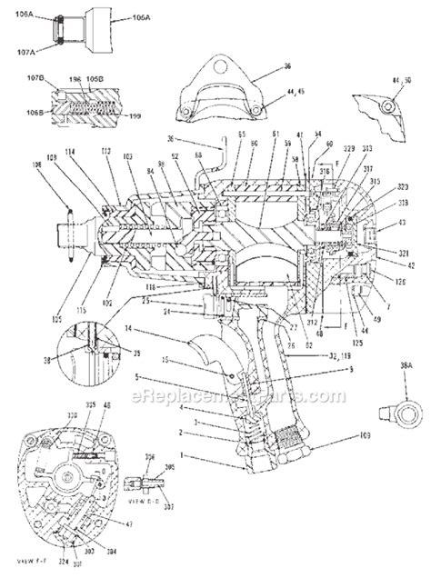 Chicago Pneumatic CP6060 TESAK Parts List and Diagram