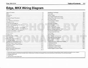 2018 Ford Edge Wiring Diagram