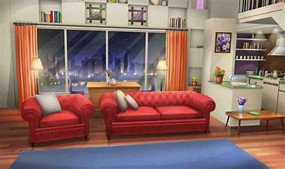 Backgrounds Episode Anime Living Background Interactive Apartment