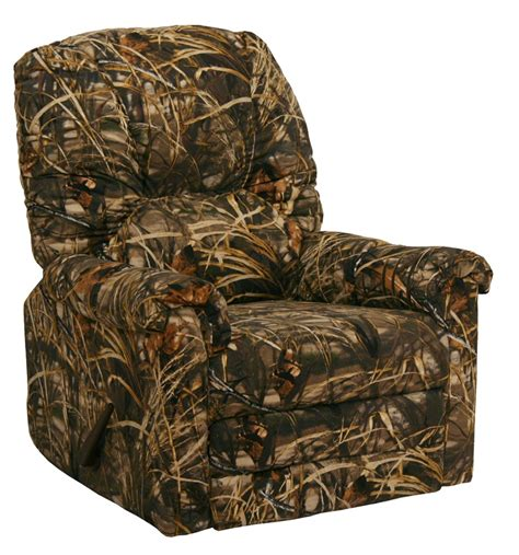 camo rocker recliner winner max 4 realtree camouflage rocker recliner by