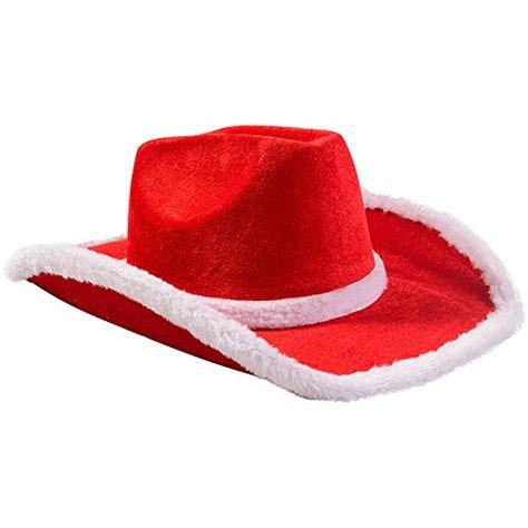 christmas funny special hats santa hats cowboy santa hat