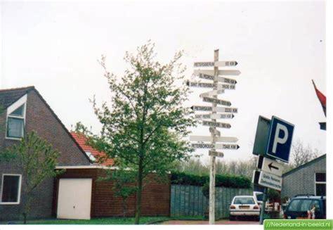 pieterburen hoofdstraat luchtfotos fotos nederland  beeldnl