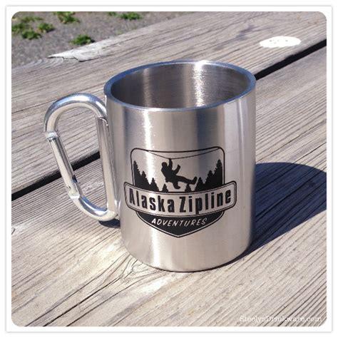 oz muir mug  carabiner handle steelys drinkware