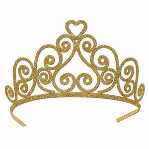 Gold Princess Crown Clipart Transparent Background ...