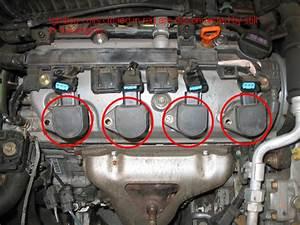 2005 Honda Civic 17 Timing Belt Marks