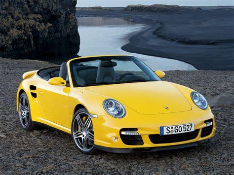 porsche cabriolet turbo porsche 911 turbo cabriolet 997 2007 2008 2009
