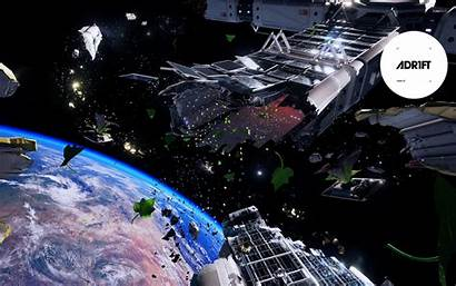 Space Adr1ft Station Apart Torn Wallpapers Games