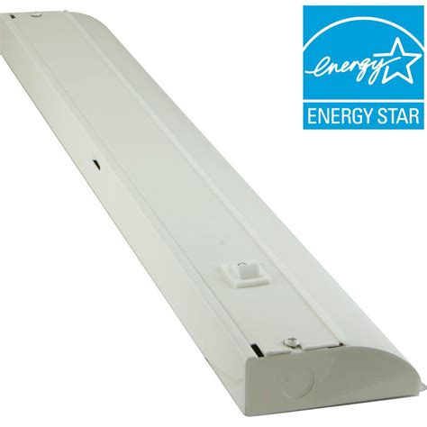 home depot under cabinet lighting ge 24 in premium led direct wire under cabinet fixture