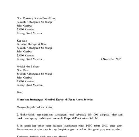 contoh surat rasmi contoh surat rasmi kerajaan contoh