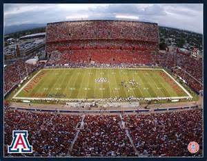 University of Arizona Wildcat Stadium