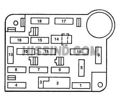 94 Mustang Fuse Diagram by 1993 2004 Ford Mustang Iv Fuse Box Diagram 1993 93 1994 94