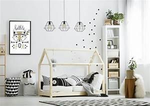 Scandinavian, Little, Fox, Print, Poster, A3, Monochrome, Bedroom, Prints, Bedroom, Decor, Graphics, Cool