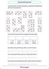 grade  creating data tables math school worksheets