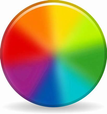Clipart Wheel Circle Icon Colors Theory Library