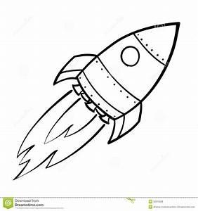 Rocket #30 (Transportation) – Printable coloring pages