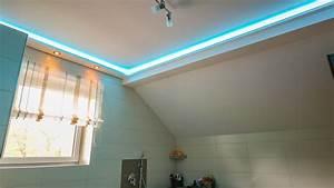 Indirekte Beleuchtung Außen : indirekte beleuchtung wand und decke mit stuckprofilen bendu ~ Jslefanu.com Haus und Dekorationen