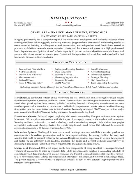 fresh graduate resume sle resume sle for fresh
