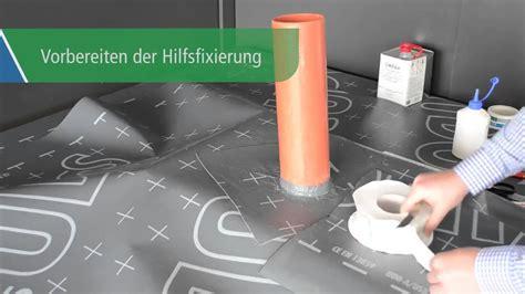 comment installer  passage de gaine etanche en toiture